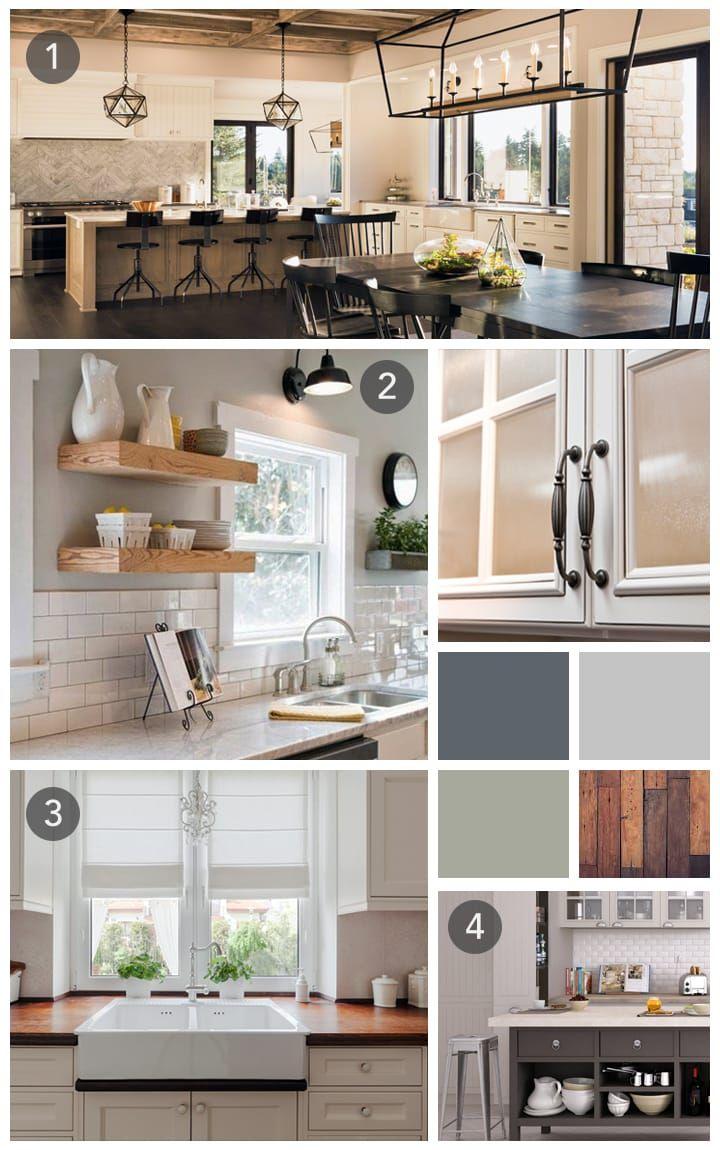 Farmhouse Kitchen Ideas Mood Board  Interior design mood board