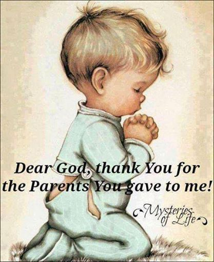 Thankful Parent Quotes: Thank You God For My Parents