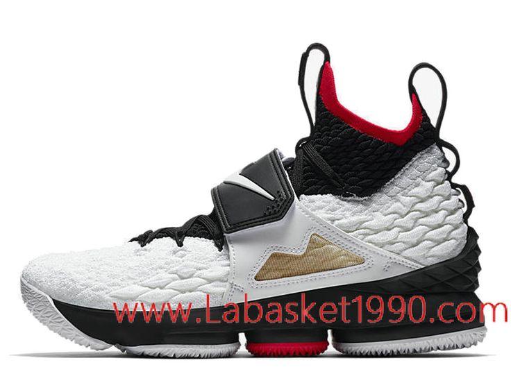 Nike LeBron 15 Diamond Turf AO9144-100 Chaussures Nike 2018 Pas Cher Pour  Homme Blanc Noir-Achetez en ligne les articles signés Nike.