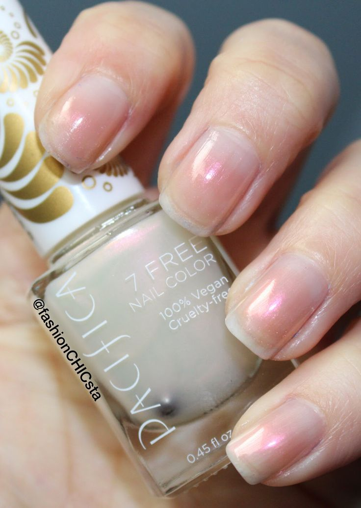 """Pacifica """"7 Free Nail Color (Vegan, Cruelty Free) In"""