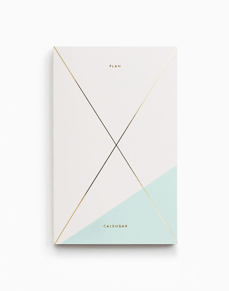 Every new mom needs a journal and planner to jot down all of baby's firsts. Might as well make it a beautiful one. Gold Foil Any-Year Daily Planner from Julia Kostreva.