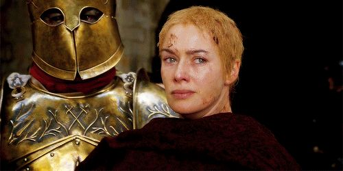 """Cersei never saw where Qyburn came from, but suddenly he was there beside them, scrambling to keep up with her champion's long strides. """"Your Grace,"""" he said, """"it is so good to have you back. May I have the honor of presenting our newest member of the Kingsguard? This is Ser Robert Strong."""""""