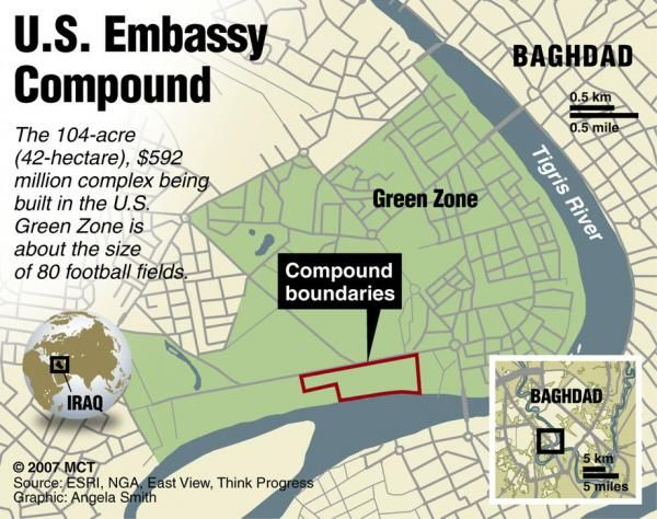 US Orders Partial Evacuation Of Baghdad Embassy As Aircraft Carrier Arrives In Gulf | June 15, 2014, Tyler Durden, Zero Hedge: