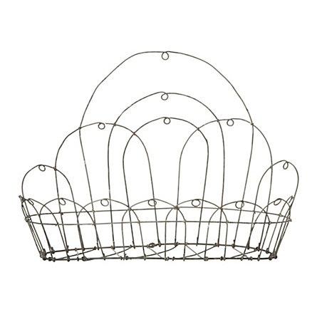 Terrain Looped Wire Wall BasketBaskets Shopterrain, Wall Baskets, Plates Racks, Terrain Loop, Wire Wall, Gardens Outdoor Shops, Loop Wire, Baskets Wire Vessel, Wire Baskets