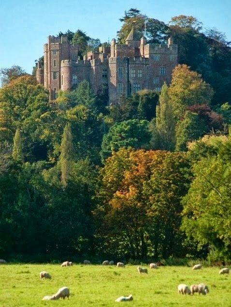 Dunster Castle. Exmoor. Somerset, UK--home of the Luttrells