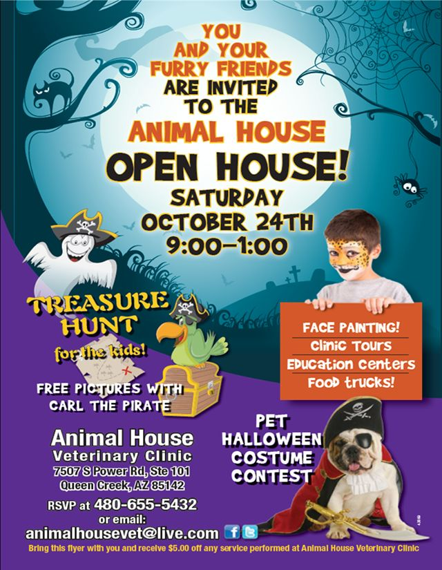 Don T Forget About Our Open House Saturday Bring The Family Join The Fun Take A Tour Of Our Clinic And Visit The Education Pet Clinic Open House Vet Clinics