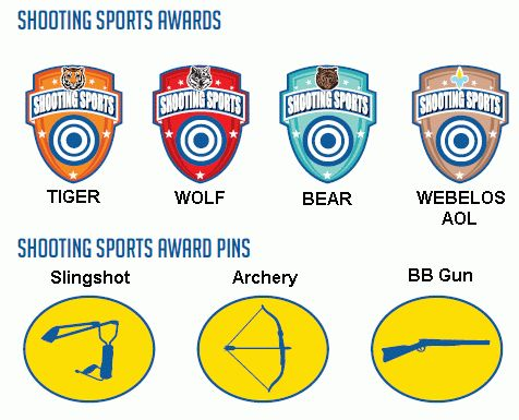 Cub Scout Shooting Sports Award