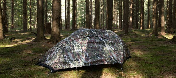"A tent camouflage ""multicam"""