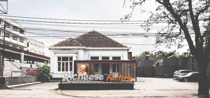 Richeese Factory Image 1  Project : Richeese Factory Location : Indonesia Description : Richeese Factory chain restaurant is our national project in Indonesia, until now we already designed more than 50 outlets all around Indonesia  #nationalproject #architect #bandung #jakarta #architectindonesia #archdaily #restaurants