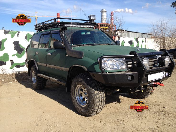 Toyota Land Cruiser 105 внедорожный тюнинг