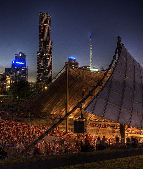 The Sidney Myer Music Bowl. The music scene in Melbourne is absolutely buzzing so make sure to catch some live show at The Best Live Music Venues. The Culture Trip has all you need to know! Photo credit: Andrew Hux on Flickr
