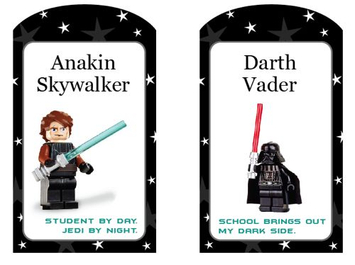 free printables for star wars legos - guess what is going to be used to decorate the goody bags at the upcoming star wars lego birthday party?