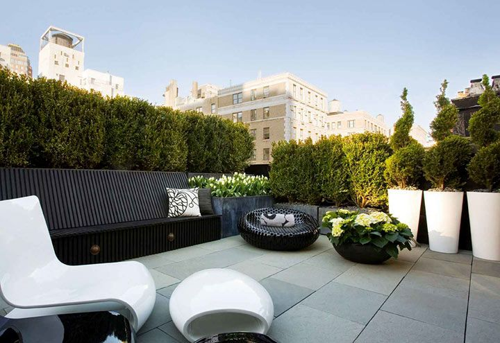 Озеленение крыш. Городские сады на крышах домов