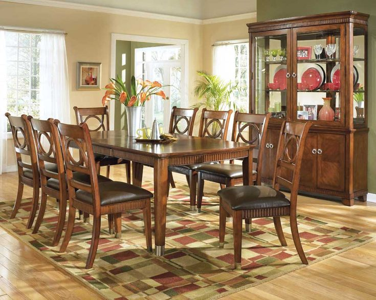 Home Design, Classic Sophisticated Casual Dining Room Sets Wooden Style  Design ~ Best Product Of