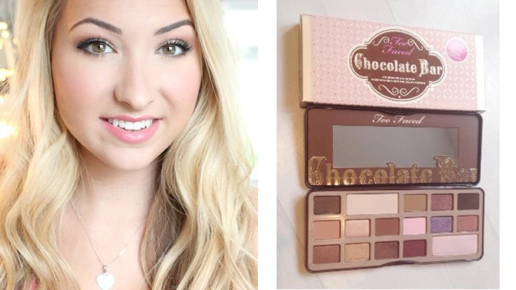 Get Ready with Me:Too Faced Chocolate Bar Palette