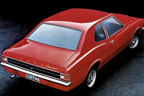 "MK3 Ford Cortina GT  ""coke bottle waste line"""