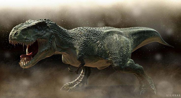 T-Rex (or V-Rex -from King Kong the movie?) by Aleksandar Popov - Vigorro FX   www.vigorro.com