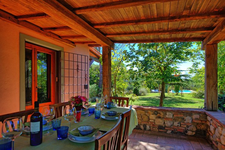 Casa in campagna nel Chianti per vacanze Casa Cipressi