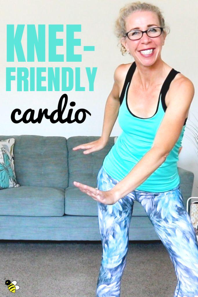 Knee Pleasant Cardio HIIT, 40 Minute LOW IMPACT Exercise 😅 Burn 400 Energy