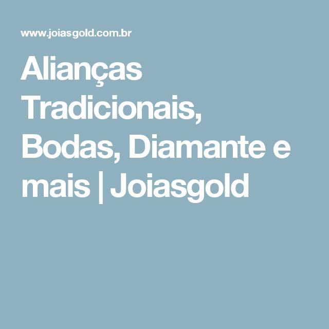 Alianças Tradicionais, Bodas, Diamante e mais | Joiasgold