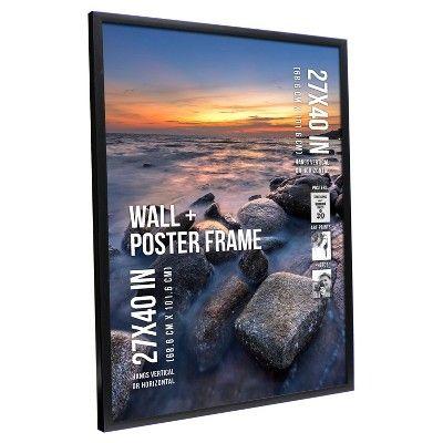 "Poster Frame 1 Profile - Black - (27""x40"")"