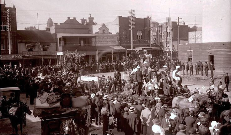 Lawson & Regent Streets, Redfern, c.1915
