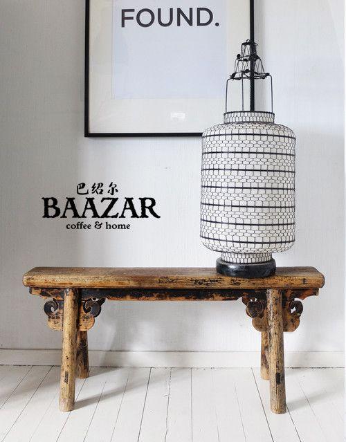 Vacker bänk, BA-078, från Baazar Coffee and Home. Hitta fler möbler på www.baazar.se   bänk, bench, orientaliskt, hall, kina, baazar, china, 2