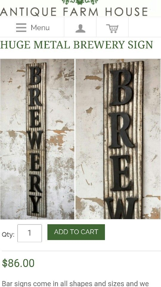 Like this idea-corrugated metal with black lettering endless possibilities