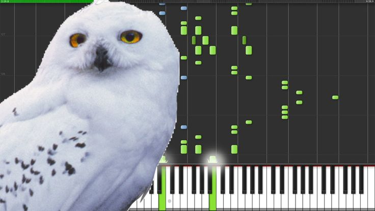 Hedwig's Theme Variations - Harry Potter [Piano Tutorial] (Synthesia) //...