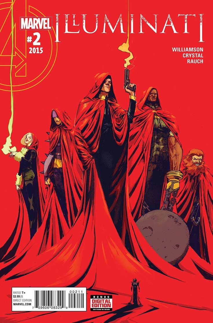 • The Hood explains part of his master plan and it involves going deep into the Marvel underground! • Can the All New All Different Illuminati get along long enough to survive their first mission? • T