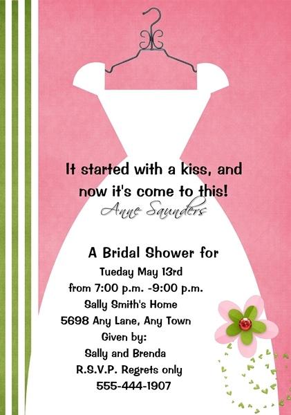 Bridal Showers Invites