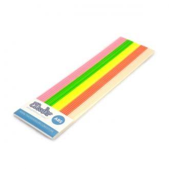 Zestaw 25 sztuk dodatkowych wkładów z plastiku ABS do długopisu 3Doodler w kolorach zielonym, żółtym, różowym, pomarańczowym oraz wkłady fluorescencyjne
