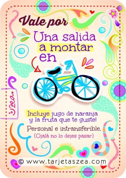 bicicleta © ZEA www.tarjetaszea.com