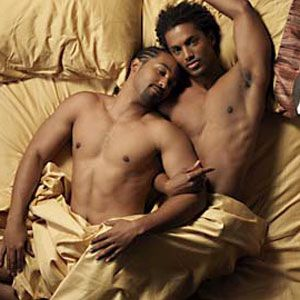 Celebrities Gay black men
