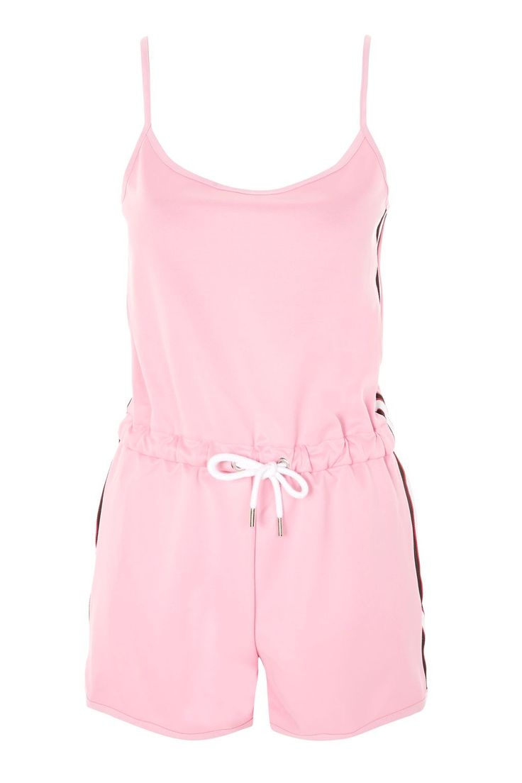 Side Striped Playsuit - New In Fashion - New In - Topshop Europe