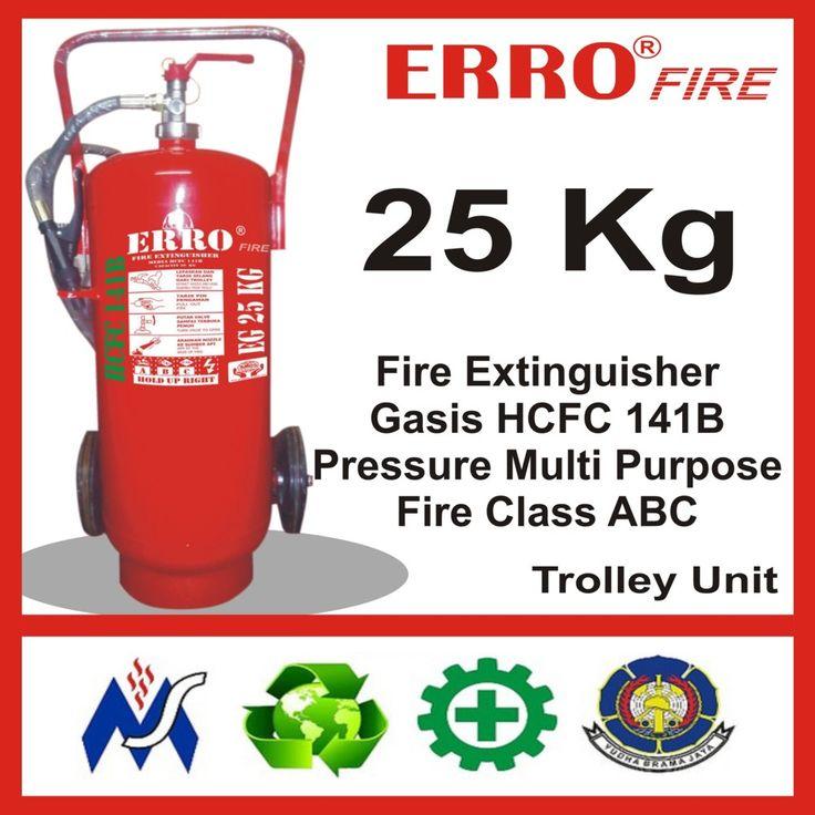Alat Pemadam Kebakaran Gasis Pengganti Hallon 25 Kg | Tabung Apar