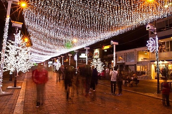 Zona Rosa en Bogota, Colombia is a really cool, hip place to hang.