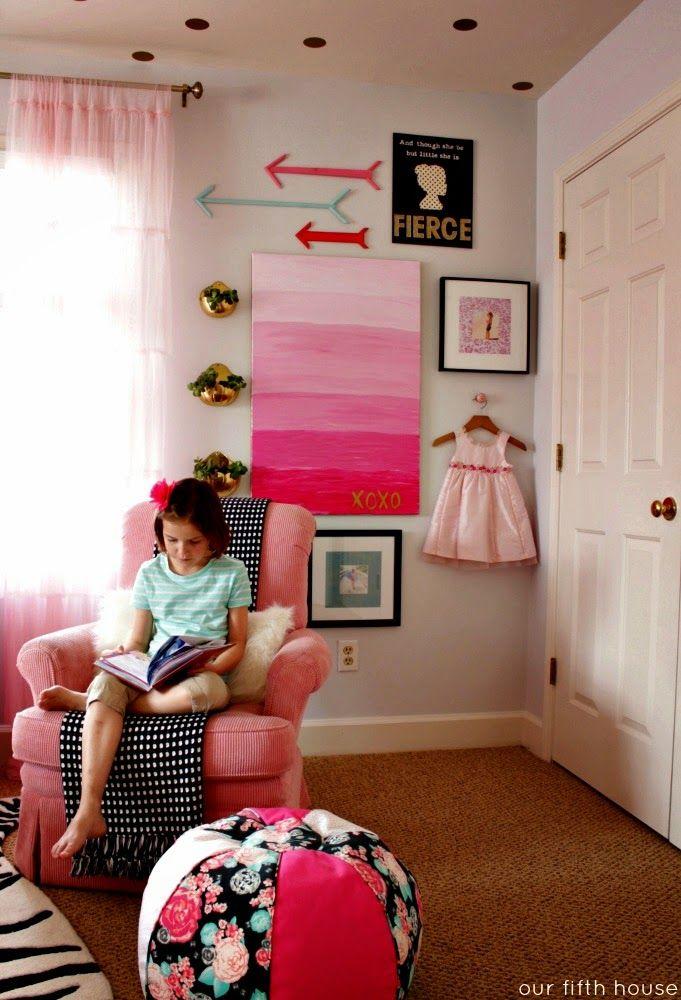 little girlfriend's gallery wall