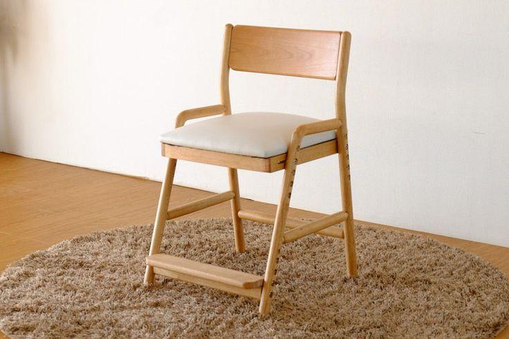 【楽天市場】学習チェア 椅子 ダイニング キッズ イス チェア キッズ 木製 アルダー 無垢 送料無料 FIORE DESK CHAIR (NA/WH)(MBR/WH) - フィオーレ デスク チェア (ナチュラル/ミドルブラウン) - [ISSEIKI 一生紀 200060]:家具インテリア DENZO