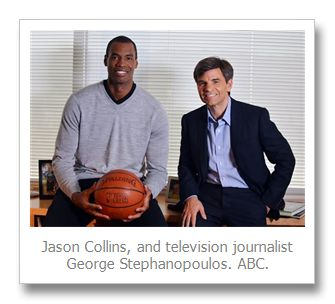Jason Collins to Good Morning America: I never set out to be the first; with Robbie Rogers interview