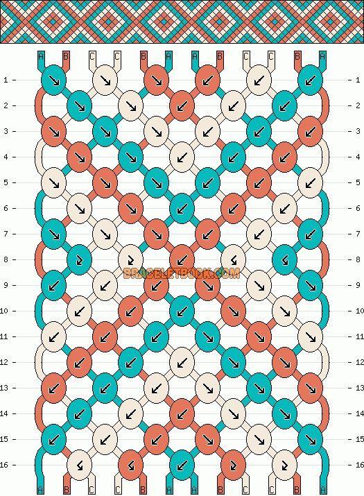Friendship Ribbon Pattern – SkillOfKing.Com