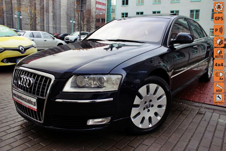 Audi A8 - W12 6.0/Quattro*BEZWYPADEK!!*Skóra*Xenon*Perfekt Stan*Lift*Szwajcar!!