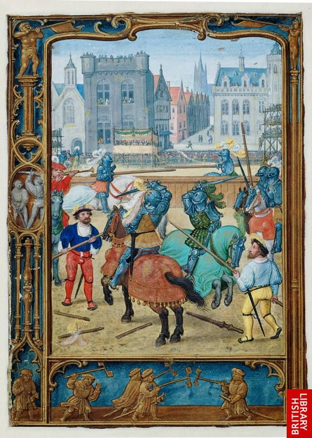 Artist: Bening, Simon, Title: The Golf Book of Hours, Date: 1540