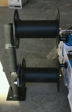 Heavy Duty Fixed Base Welding Cable Lead Reel Made in USA!