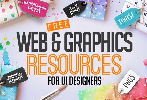 36 Free Web & Graphic Design Resources for UI Designers | Freebies | Graphic Design Junction