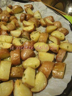 Le ricette della Zu: Patatine rosse al forno con la buccia