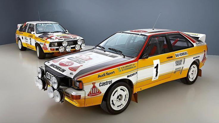 Audi Quattro Rallye + Audi Sport Quattro Rallye
