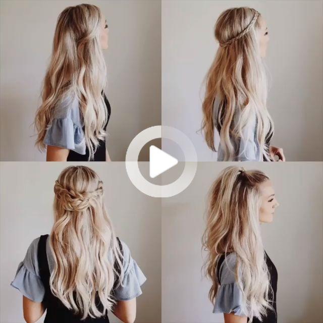 10 Glamorous Braided Hairstyle Tutorials! #braidhairstyles