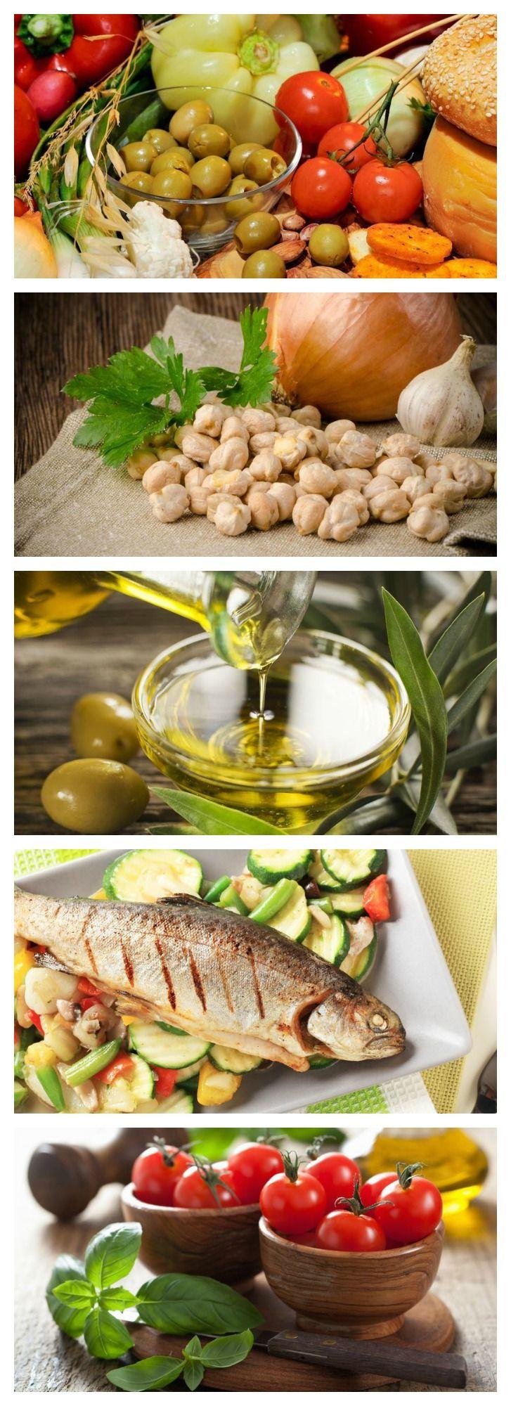5 Mediterranean foods that lower cholesterol