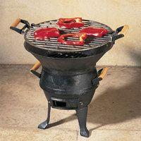 Barbecue de table - Brasero en Fonte
